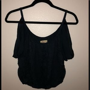 Hollister cold shoulder top